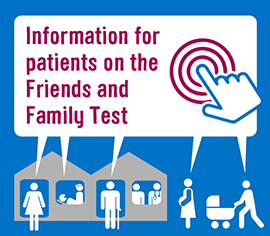 Information for patients on the Friends and Family Test